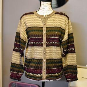 Retro/Vintage Style Dressbarn Cardigan
